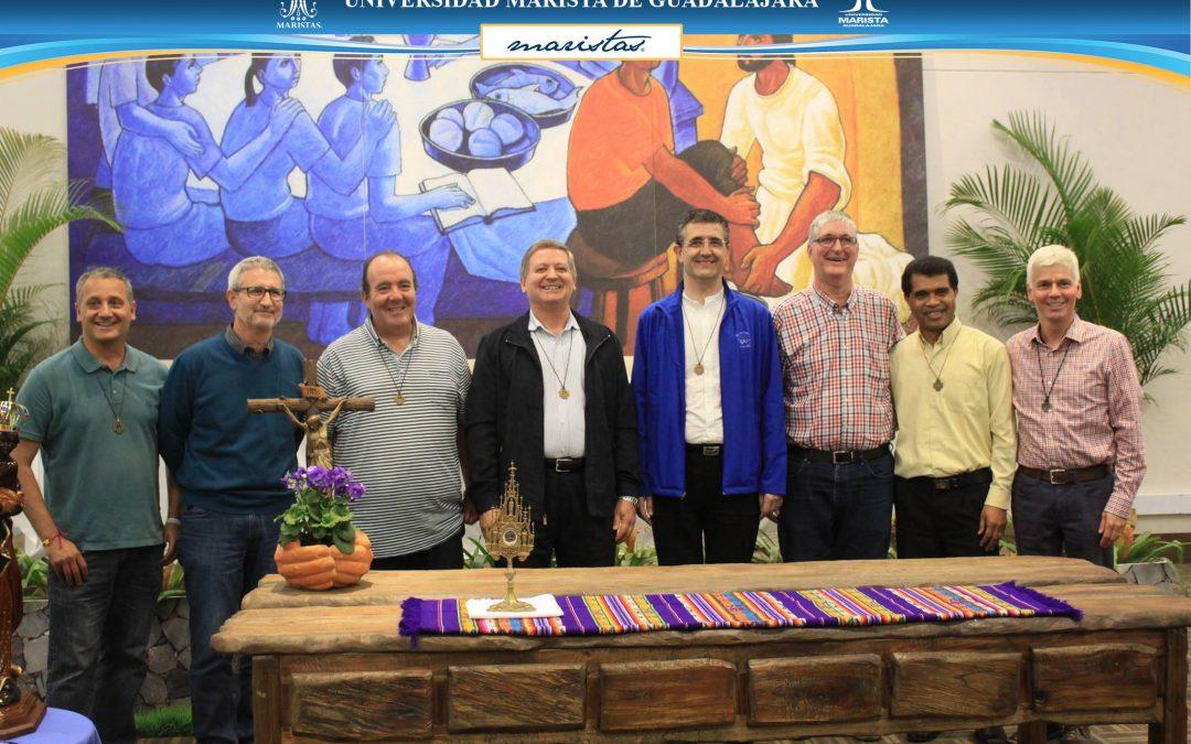 Con gran alegría compartimos a los Hermanos de nuestro Gobierno General Marista