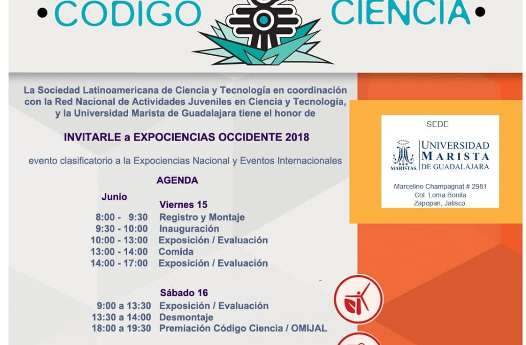Expo Ciencias Occidente 2018