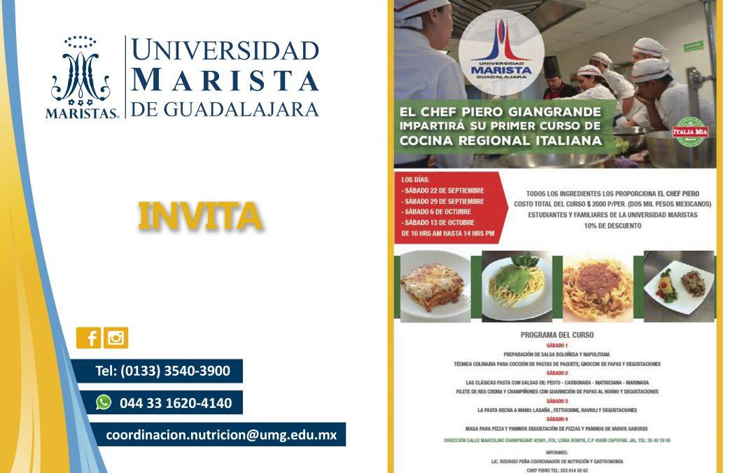 Curso de Cocina Regional Italiana