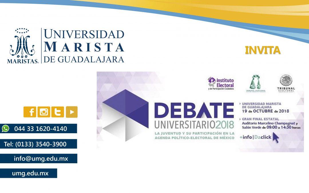 Concurso de Debate Universitario 2018