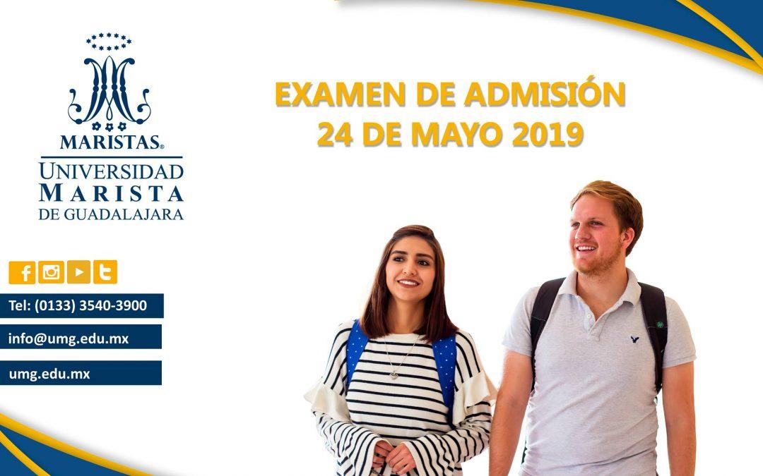 Examen de admisión 24 de Mayo
