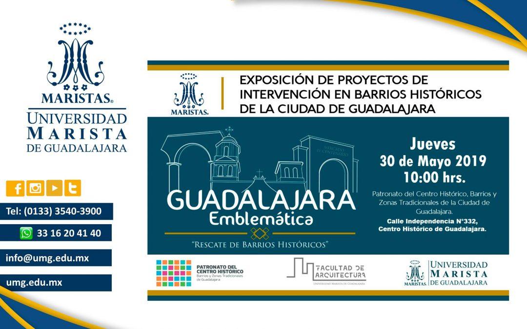 Guadalajara Emblemática / Rescate de Barrios Históricos.