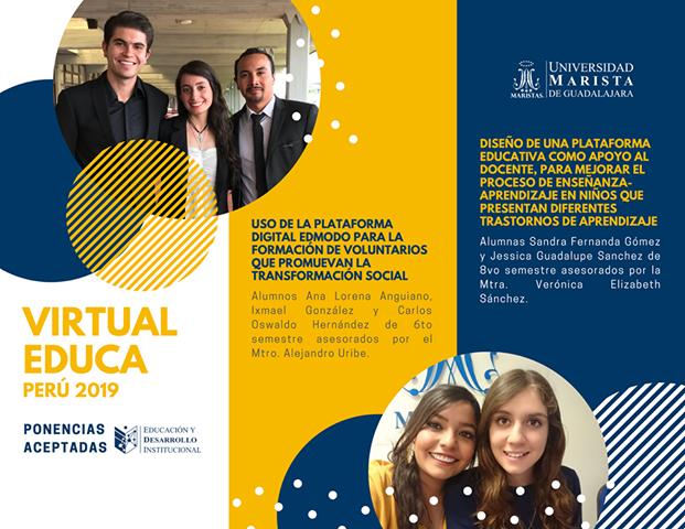 Alumnado de EDI estará presente en el Congreso Virtual Educa 2019