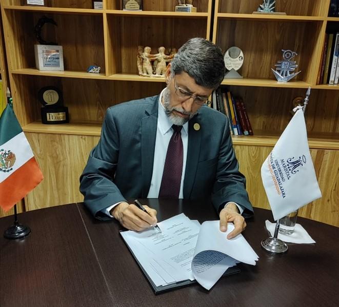 La Universidad Marista de Guadalajara firma el convenio Bosque Interuniversitario La Primavera