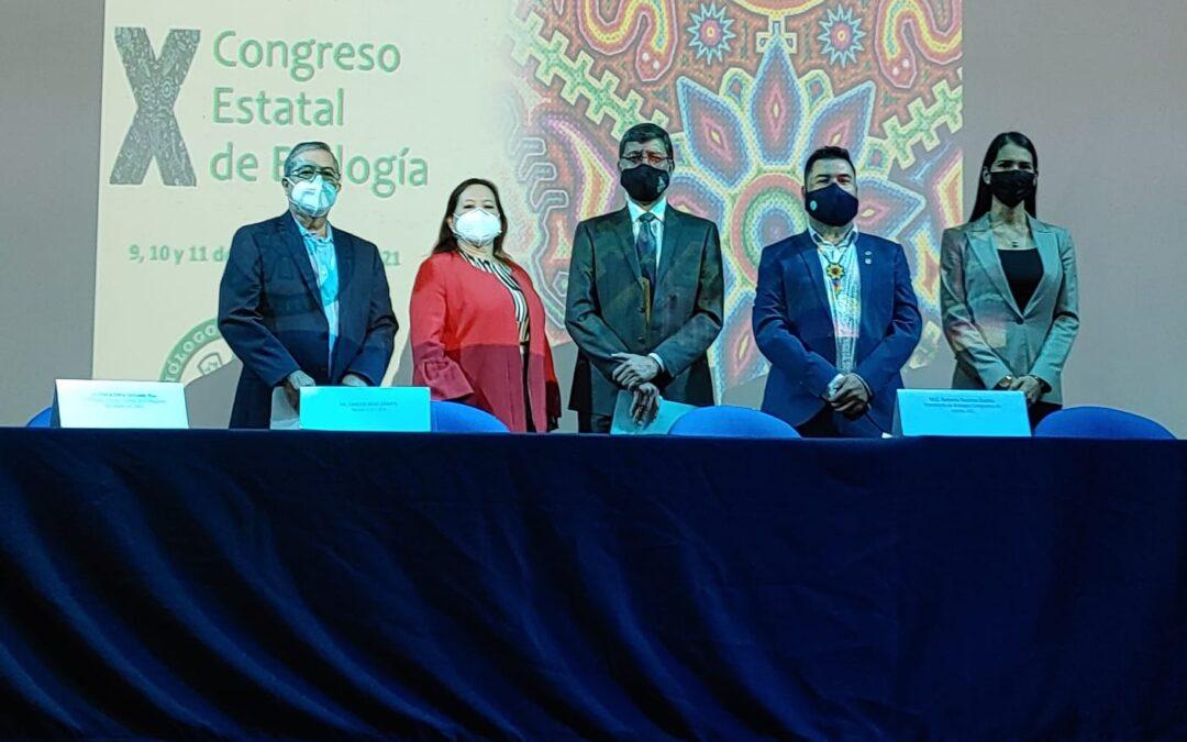 Arrancó el X Congreso Estatal de Biología CESBIO 2021.