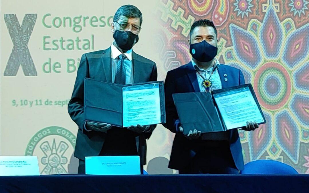 Firman Convenio de Colaboración Universidad Marista y Biólogos Colegiados de Jalisco AC.