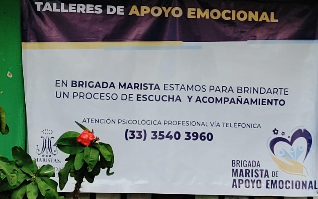 Segunda sesión Brigada de Apoyo Emocional Marista